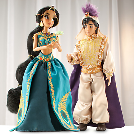 Aladin et Jasmine Poupée de collection DisneyStore