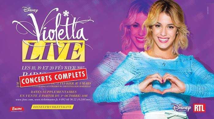 Concert Violetta 2014