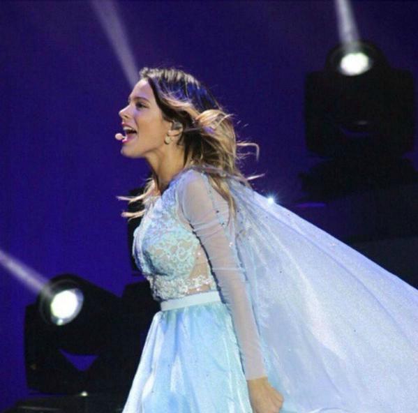 Violetta Live Reine des Neiges Frozen
