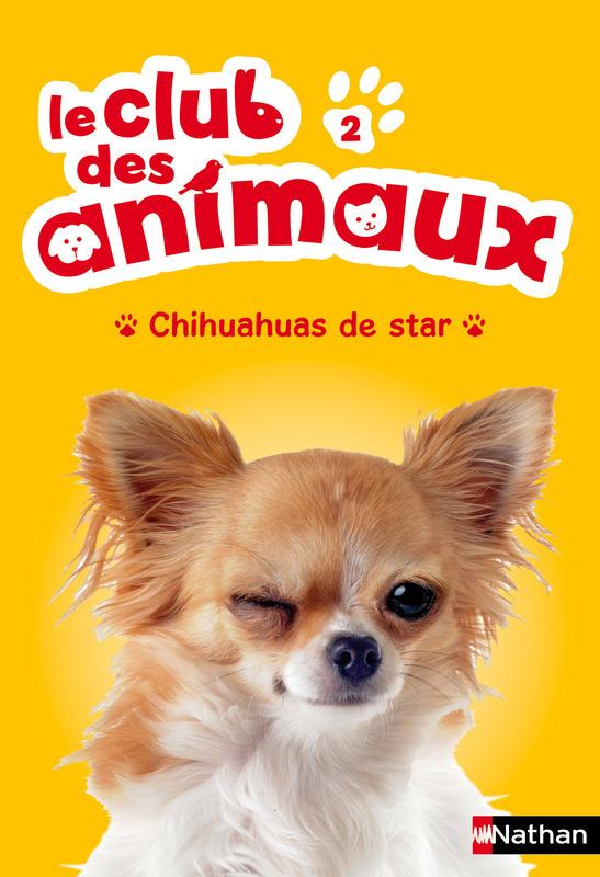 Le club des animaux Chihuahua de star roman Nathan Jeunesse