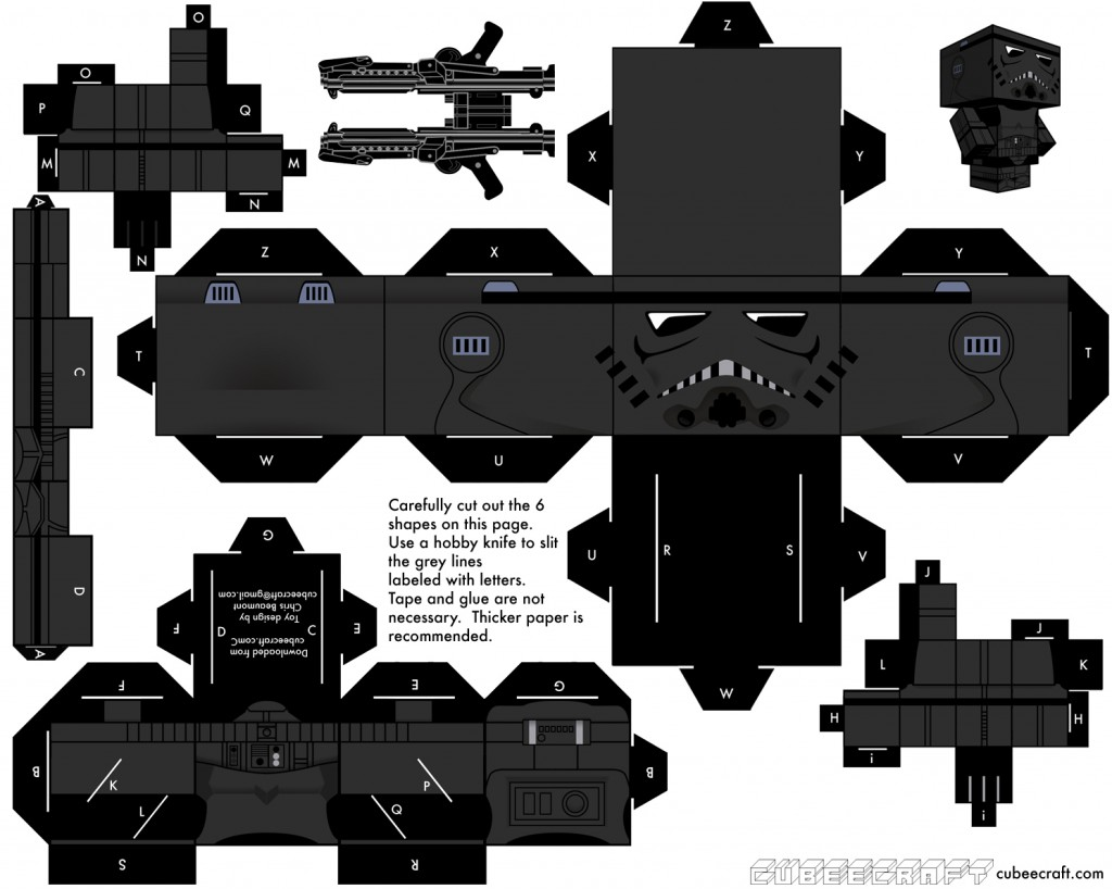 papertoy_Shadowtrooper_Cubeecraft_template