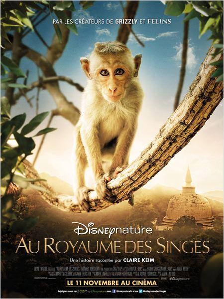 Affiche Au Royaume des singes