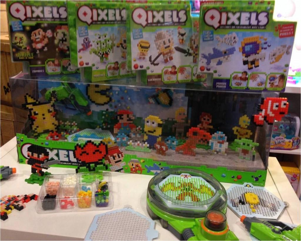Qixels-perles-a-l-eau