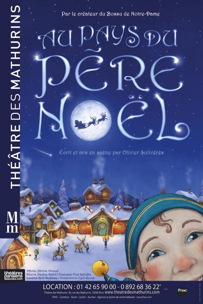 Au pays du Père Noël Theatre des Mathurins
